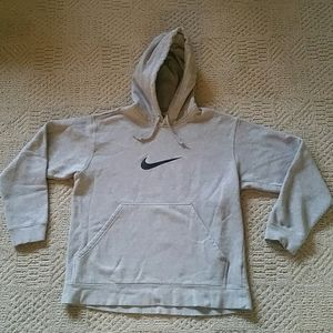 Men's Size Small Gray Nike Pullover Hoodie